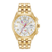 Citizen® Eco-Drive™ World Time A-T Womens Gold-Tone Watch FC0002-53A