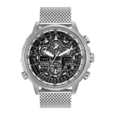 jcpenney.com | Citizen® Eco-Drive® Navihawk A-T Mens Chronograph Watch JY8030-83E
