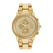 Citizen® Eco-Drive™ Nighthawk Mens Gold-Tone Chronograph Watch FB3002-53P