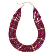 Mixit™ Pink Seed Bead Necklace
