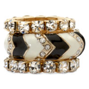Mixit™ 3-pr. Stretchable Rings