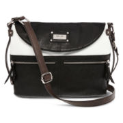 nicole by Nicole Miller Carly Flap Crossbody Bag