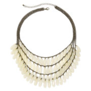 Decree® Layered, Simulated Moonstone Necklace