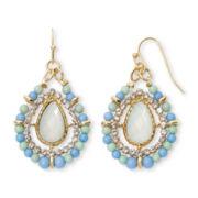 Decree® Concentric Teardrop Earrings