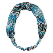 Arizona Blue & Brown Chevron Head Wrap