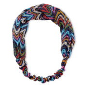 Arizona Multicolor Chevron Head Wrap