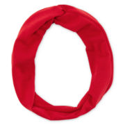 Carole Red Love Knot Headwrap