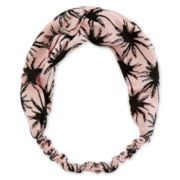 Carole Pink Palm Tree Headwrap