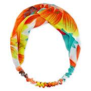Carole Floral Headwrap