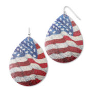 Carole Old Glory Drop Earrings