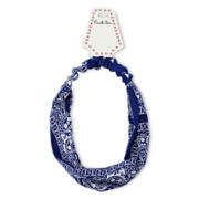Carole Blue Bandana Head Wrap