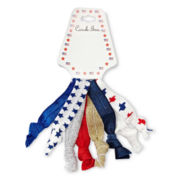 Carole Patriotic 8-pc. Hair Ties