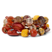 Mixit™ Boho Chic 3-pc. Stretch Bracelet Set