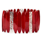 Mixit™ Red Shell Stretch Bracelet
