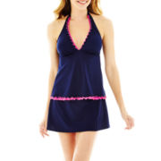 Jamaica Bay® Ruffled-Edge Halterkini Swim Top or Skirted Bottoms
