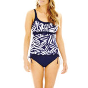 Jamaica  Bay® Framed Peasant Tankini Swim Top or Brief Bottoms