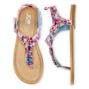 Joe Fresh™ Girls Gemstone Sandals