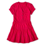 Arizona Tiered Short-Sleeve Tunic - Girls 6-16 and Plus
