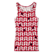 Arizona Favorite Print Tank Top - Girls 6-16 and Plus