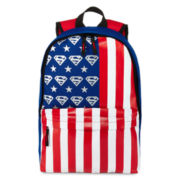 Superman Metallic Screenprint Backpack