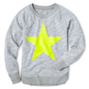 Xersion™ Graphic Long-Sleeve Fleece Sweatshirt - Girls 6-16 and Plus