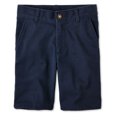 IZOD® Flat Front Shorts - Boys 8-20, Slim and Husky