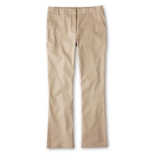 IZOD® Stretch Bootcut Pants - Preschool Girls 4-6x and Slim