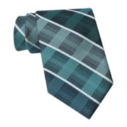 Claiborne® Faded Plaid Tie