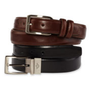 Dockers® 2-pk. Leather Belt Set