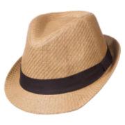 St. John's Bay® Toyo Fedora Hat