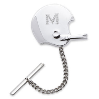 jcpenney.com | Football Helmet Rhodium-Plated Tie Tack