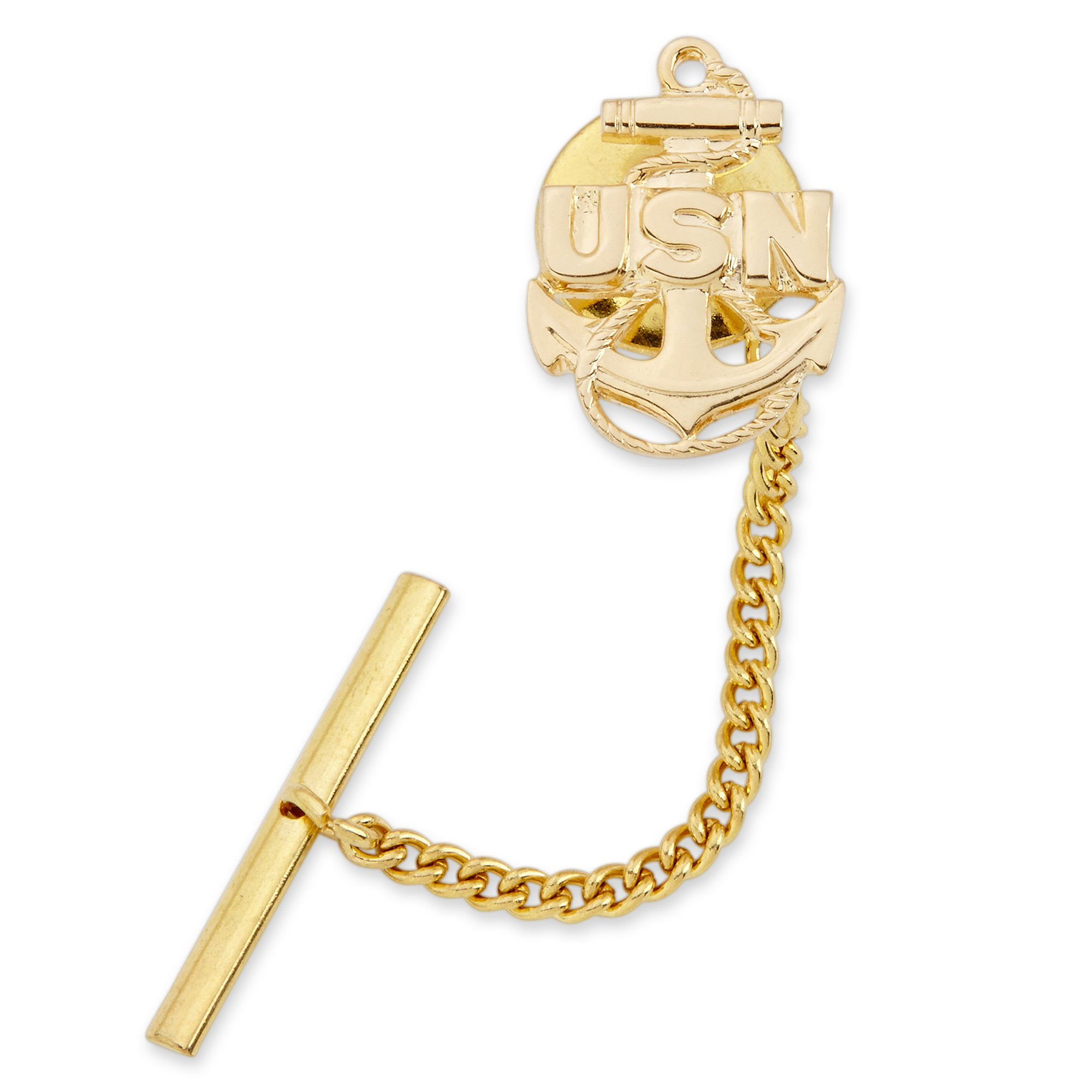 US Navy Gold-Plated Tie Tack