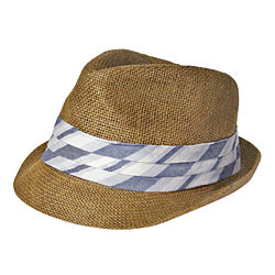 Arizona Pleated Band Trilby Hat