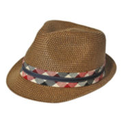 Arizona Trilby w/ Gingham Check Hat Band