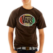 Vans® Classic Oval Check Graphic Tee
