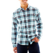 DC® Eastwood Flannel Button-Front Shirt