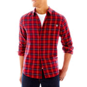 DC® Shackles Flannel Button-Front Shirt