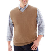 The Foundry Supply Co.™ Sweater Vest-Big & Tall