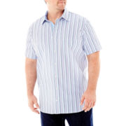 TailorByrd Short-Sleeve Woven Shirt–Big & Tall