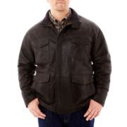 The Foundry Supply Co.™ Leather Field Jacket