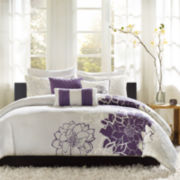 Madison Park Bridgette 6-pc. Floral Duvet Cover Set