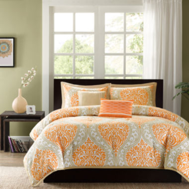 jcpenney.com | Intelligent Design Sabrina Damask Comforter Set