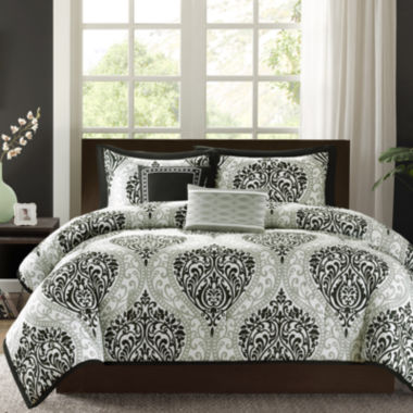 jcpenney.com | Intelligent Design Sydney Damask Comforter Set