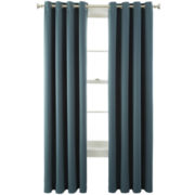 Royal Velvet® Kathryn Grommet-Top Room-Darkening Curtain Panel