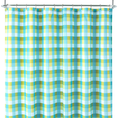 jcpenney.com | Home Expressions™ Gingham Plaid Shower Curtain