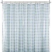 Home Expressions™ Dixon Squares PEVA Shower Curtain