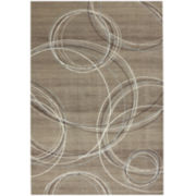 American Rug Craftsmen Spiral Stratum Geometric Rectangular Rug