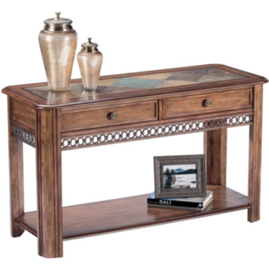 jcpenney.com | Midwest 2-Drawer Slate Top Console Table