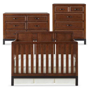 jcpenney.com | Bedford Baby Uptown 3-pc. Furniture Set - Walnut