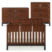 Bedford Baby Uptown 3-pc. Furniture Set - Walnut